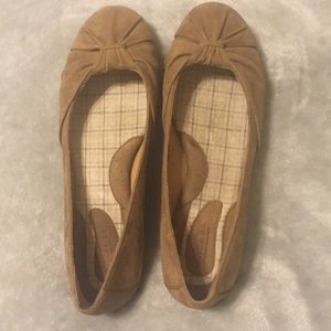 Born Suede Leather Flats